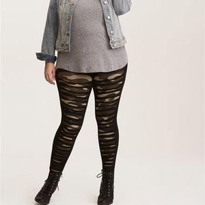 torrid camo slash leggings plus size 3x